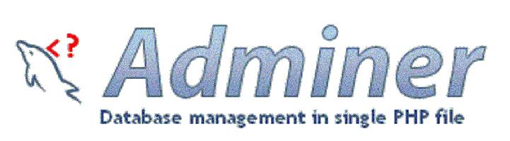 adminer, una alternativa a phpmyadmin